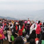 Prayer on Mount Tai Mo Shan