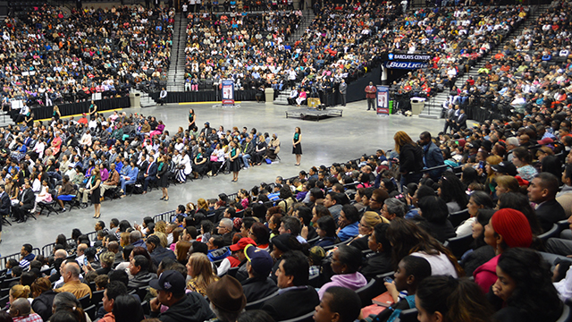 """""""Nothing to Lose 3"""" gathers thousands of readers at the Barclays Center"""