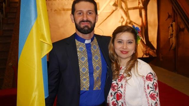 Event of faith in Ukraine