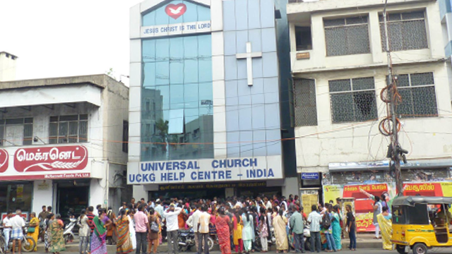The mission of The Universal Church in India