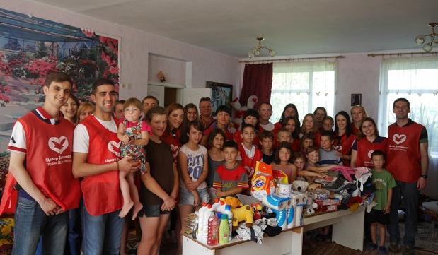 Social project in Kiev, Ukraine