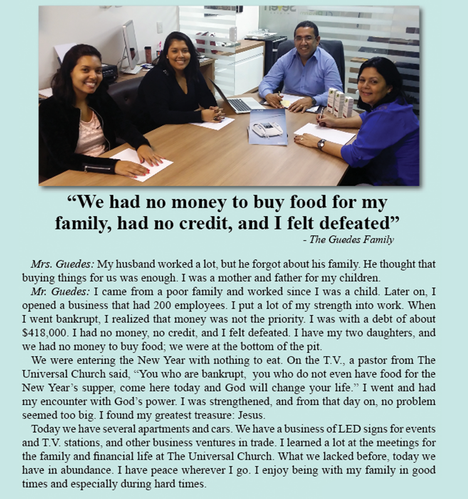 Financial problems and the family