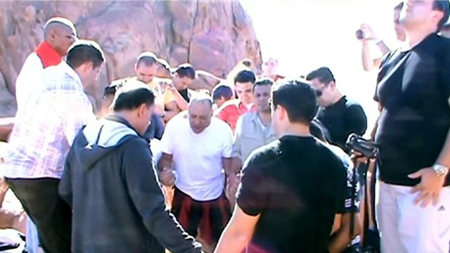 Pastors and Bishops climbing Mount Sinai