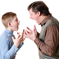 Don't argue with your children