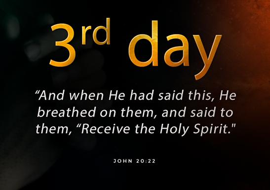 3rd day fast of Daniel