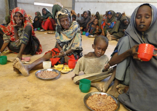 Great drought in Somalia causes several deaths