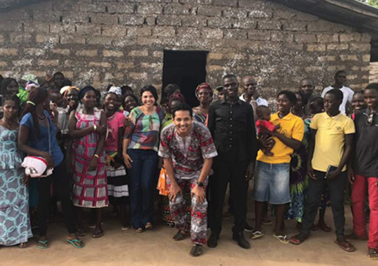 Villagers in Guinea-Bissau built a church with their hands