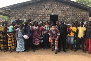 Villagers in Guine-Bissau