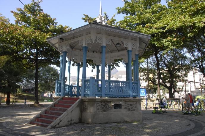 bandstand in Meier