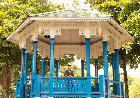 The seeds of faith sown at the bandstand in Meier