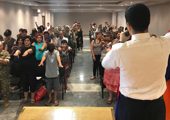 The Universal Church Inauguration in Armenia