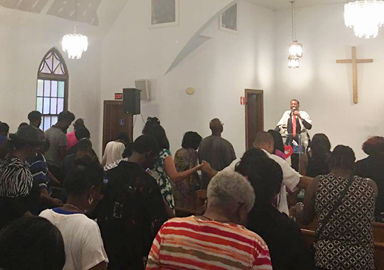 First Gathering in South Carolina