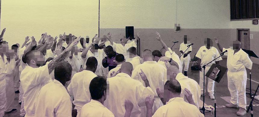 men in prision