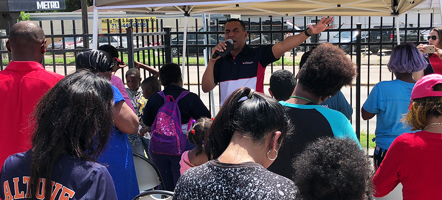 Back-to-School Community Outreach