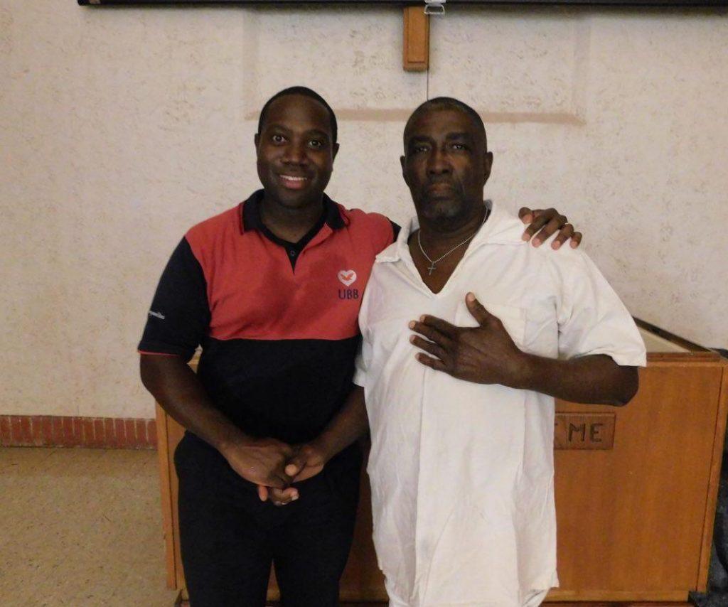 Alvin baptized