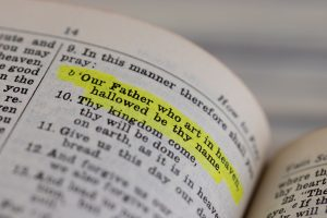 the highlighted bible verse