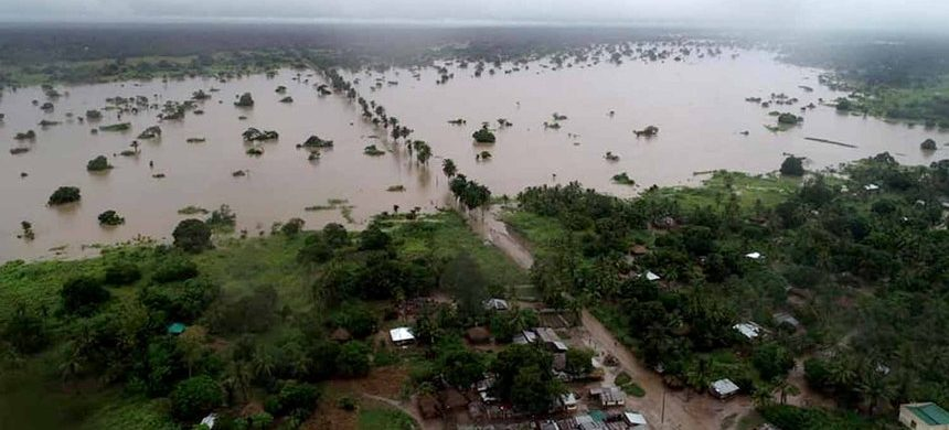 Cyclone Idai in Mozambique