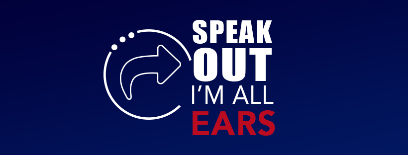 Speak Out, I'm All Ears
