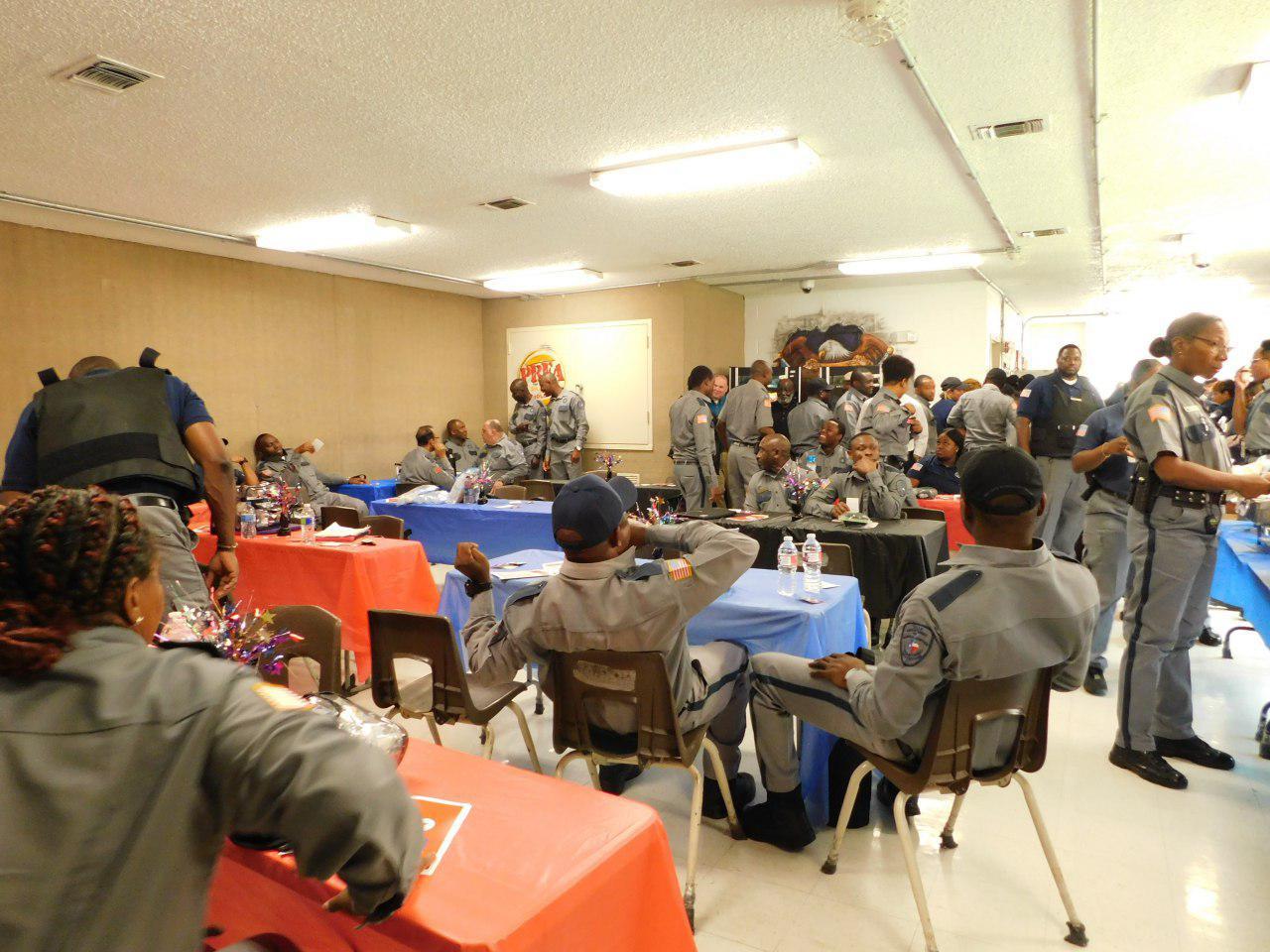 Officers appreciation week in Darrington Unit