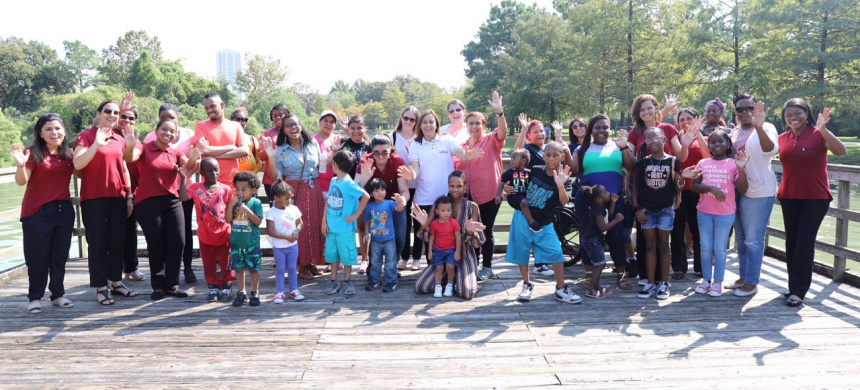 School for Mothers at Hermann Park