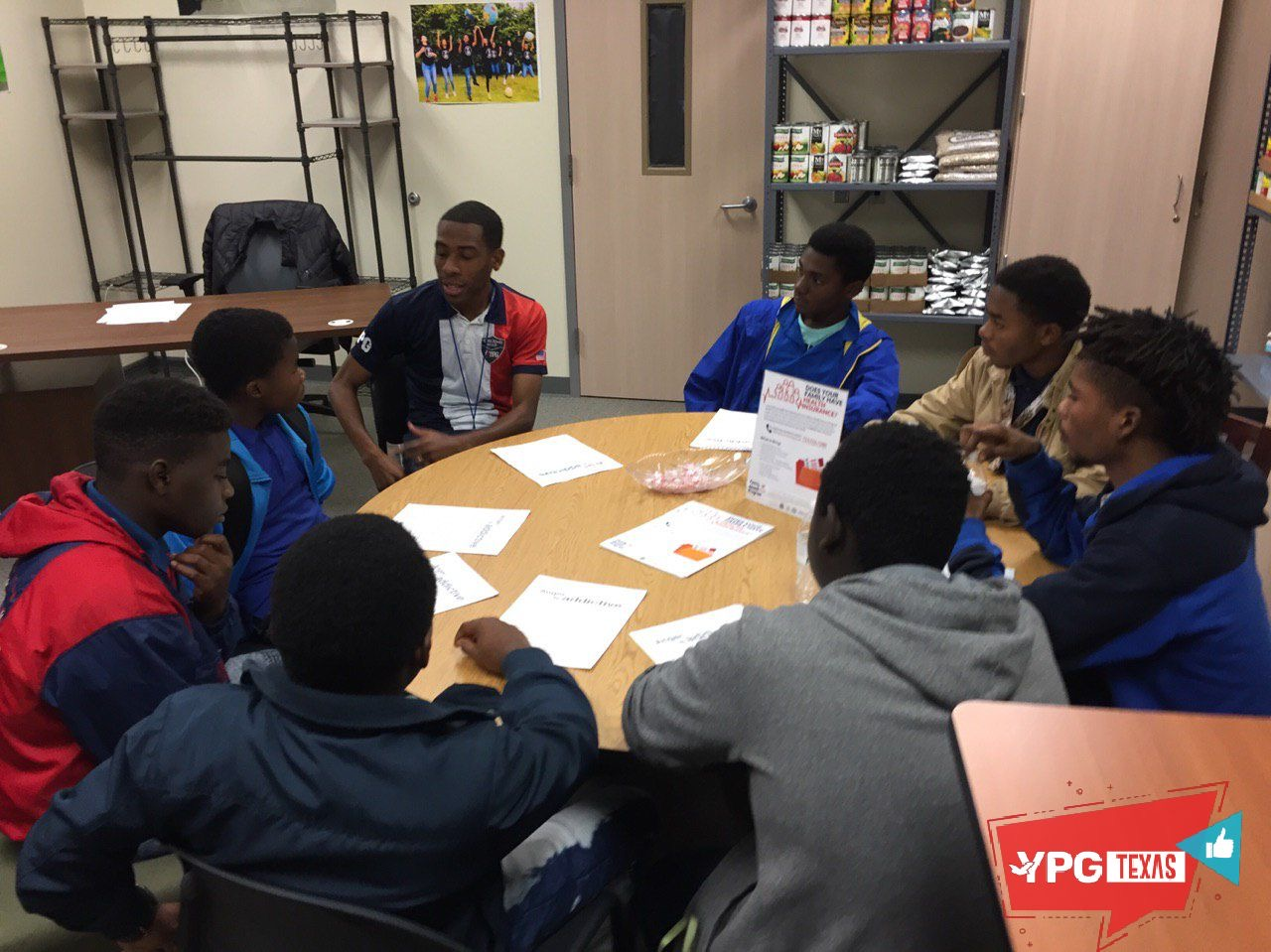 YPG Opening doors in the community