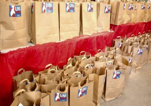 UniSocial and the Caleb group give back to the community