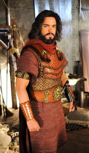 Actor Sidney Sampaio interprets Joshua in the epic Bible inspired TV drama series The Promised Land