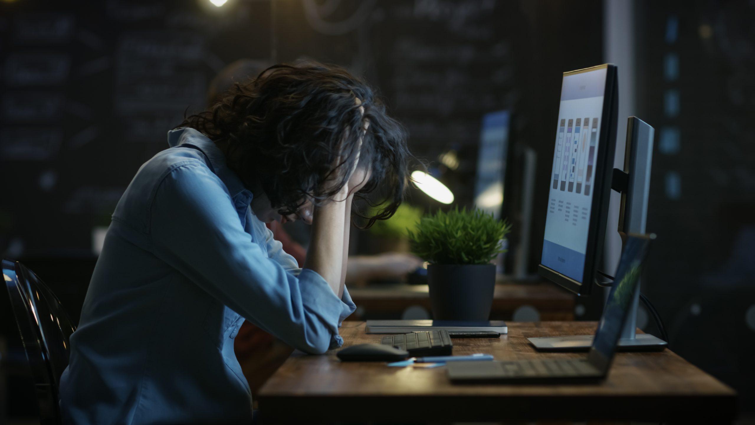 Desesperación por el trabajo