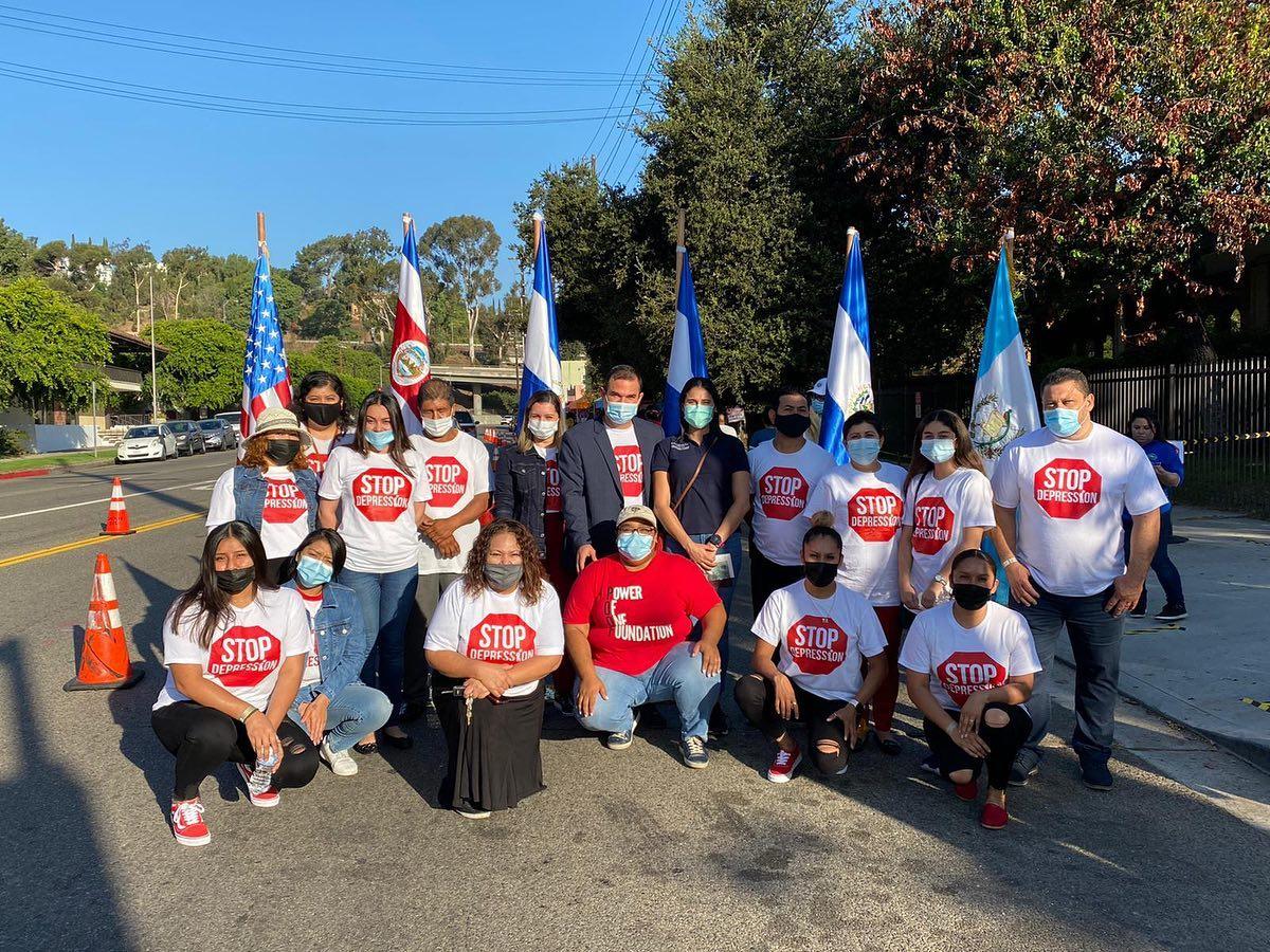 EVG junto con la fundación «Power of One» en Los Ángeles, California ayudando al pueblo angelino