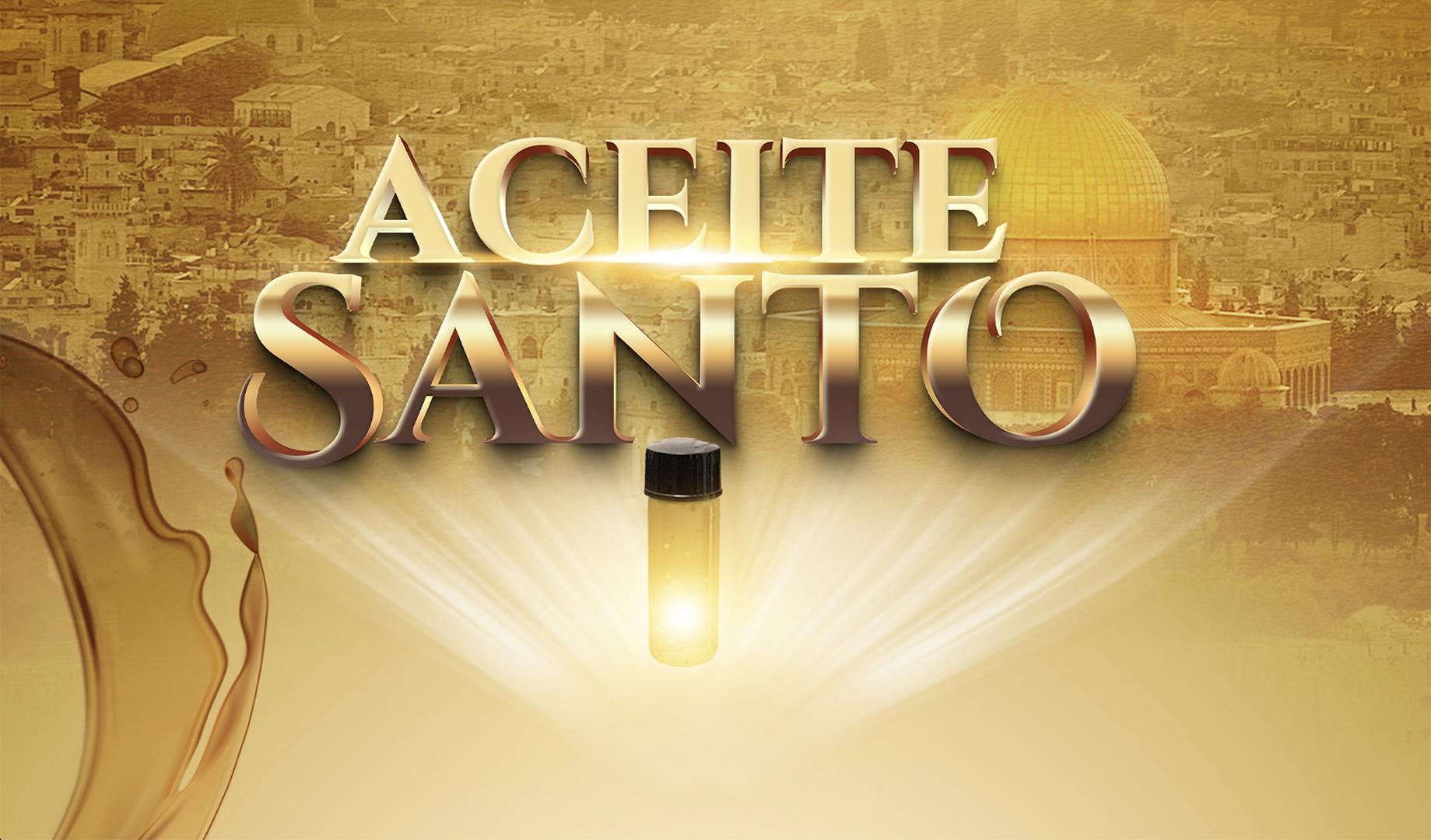 Aceite Santo de Israel - 31 de enero