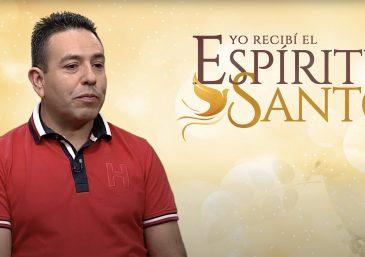 Sólo a través del Espíritu Santo, logré encontrar la paz y tranquilidad que tanto anhelaba recibir