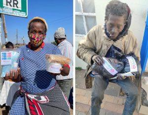 Más de 10 mil personas son atendidas en la acción social simultanea en África del Sur
