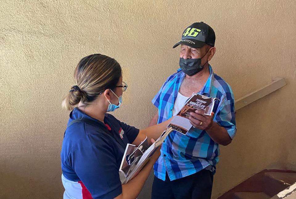 Los voluntarios del grupo EVG en Pomona, California buscando a los más necesitados2 min read