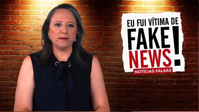 Ela criou um preconceito muito grande devido às falsas notícias