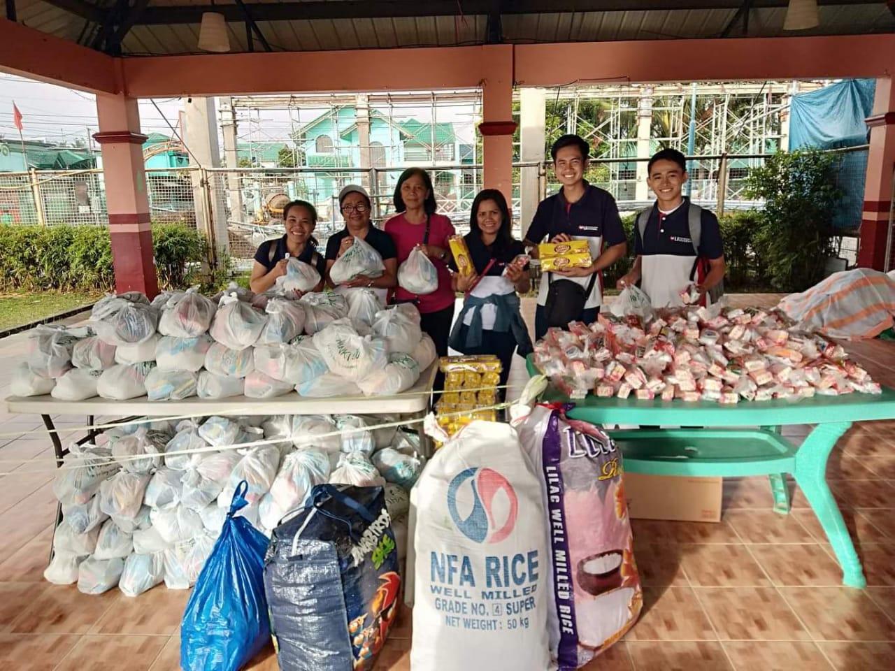 Universal auxilia vítimas de vulcão nas Filipinas