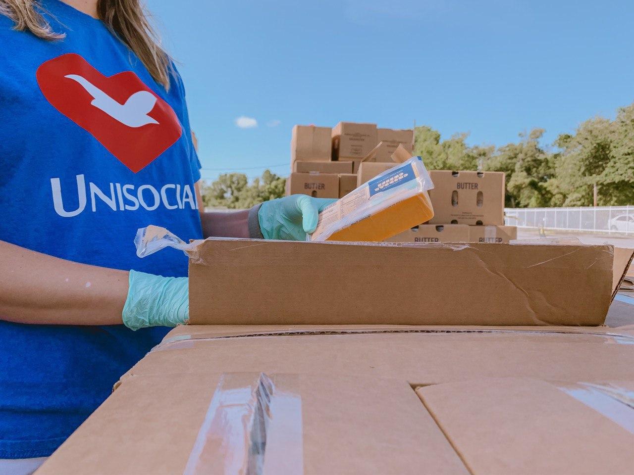Doação de alimentos Orlando