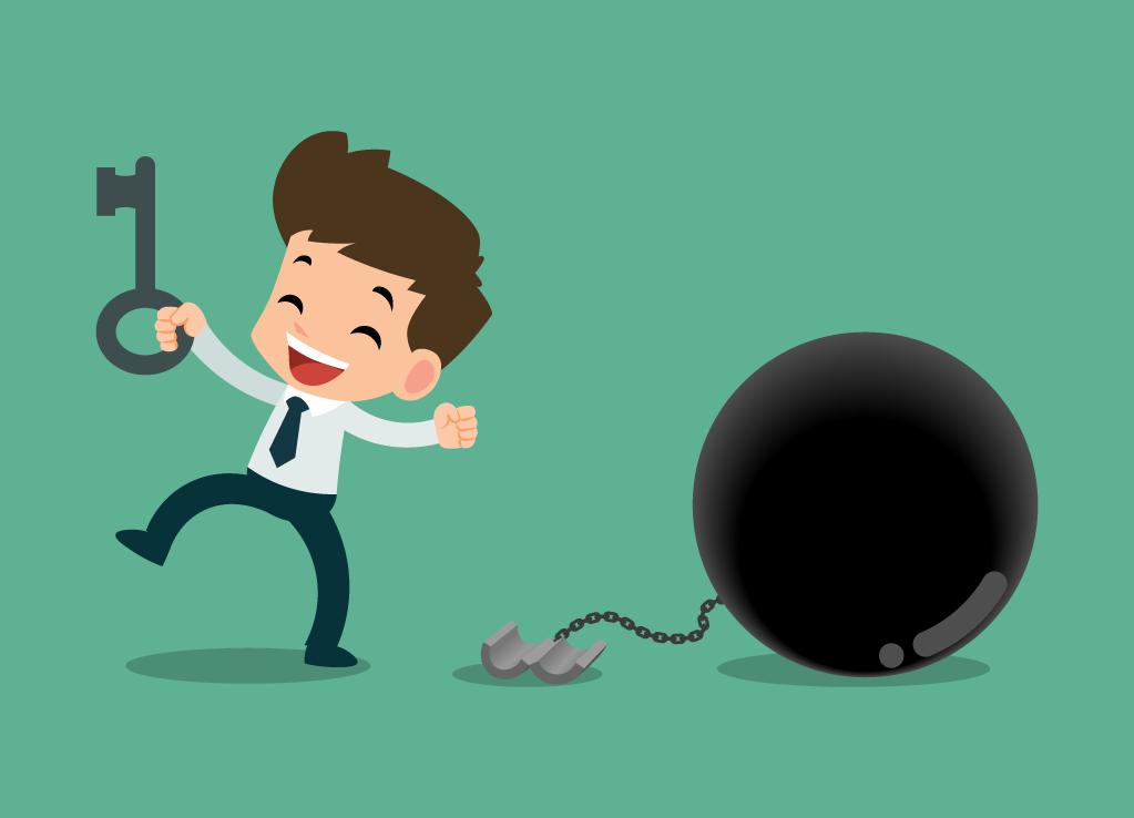 Saia da escravidão das dívidas