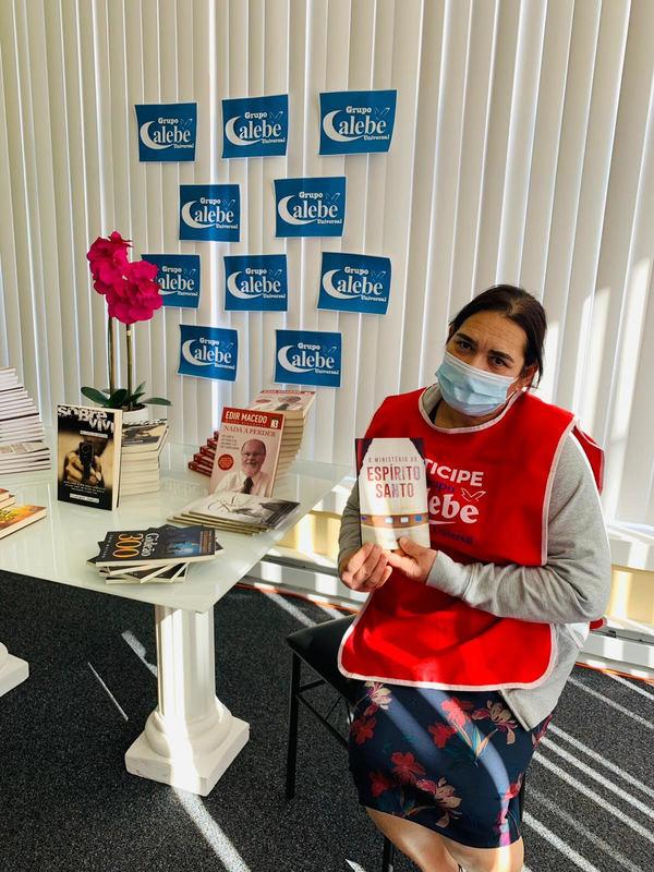 Grupo Calebe promove campanha de incentivo à leitura