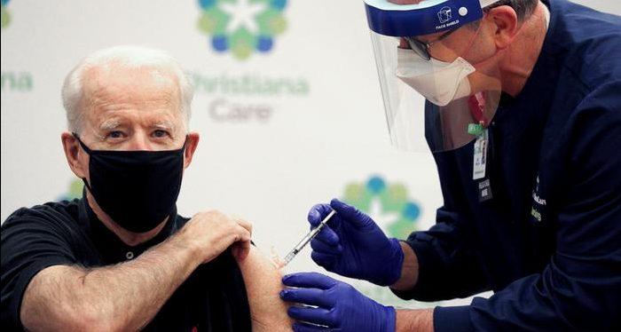 Biden anuncia vacina para todos os adultos a partir de 1º de Maio