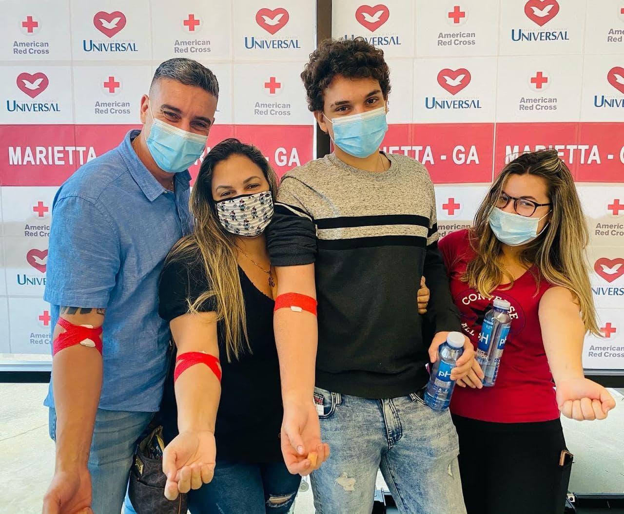 Universal em Marietta, GA, realiza coleta de sangue pela segunda vez