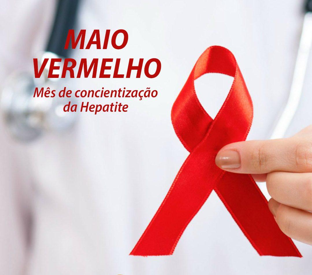 Maio Vermelho: mês da conscientização sobre a Hepatite
