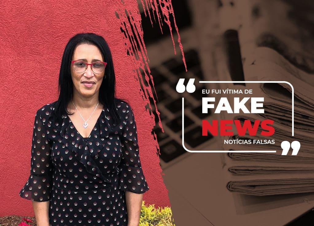 """""""Eu fui vítima de fake news e se pudesse voltar no tempo, faria tudo diferente. """""""