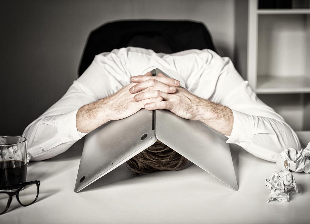 Esgotamento: o seu trabalho tem limites ou limita você?